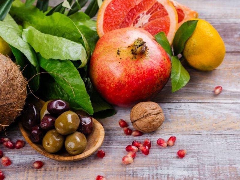 Granatapfel, Nüsse, Oliven, Benefits für den Immunschutz