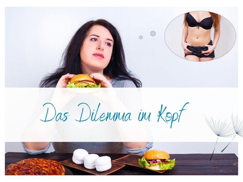 Diät-Dilemma im Kopf