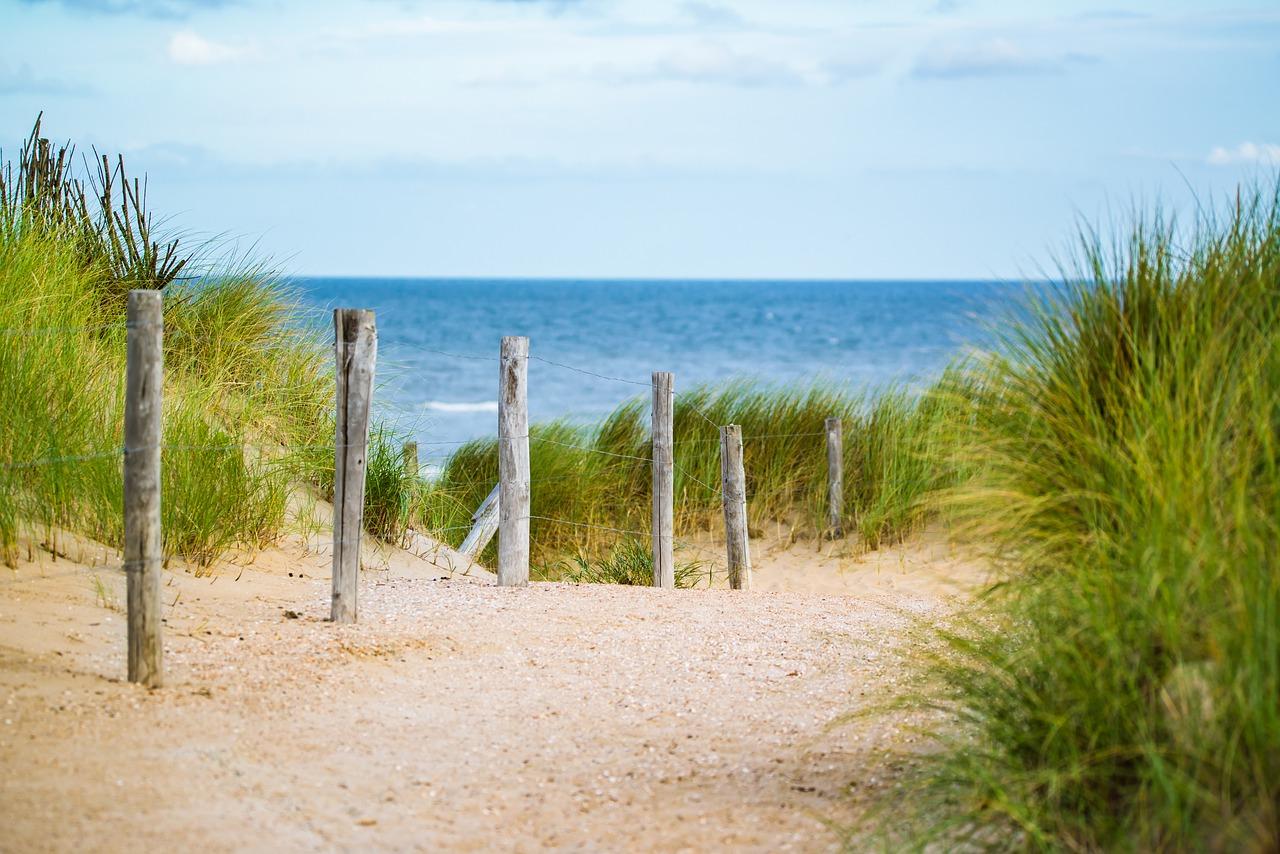 Nordsee Hintergrund Strand