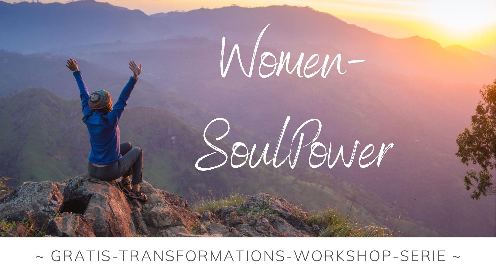 Women SoulPower Transformations-Workshop-Serie Banner